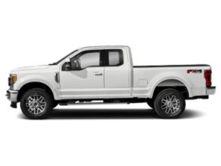 Oxford White 2018 Ford Super Duty F-250 SRW Pictures Super Duty F-250 SRW Supercab Lariat 2WD photos side view