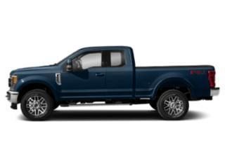 Blue Jeans Metallic 2018 Ford Super Duty F-250 SRW Pictures Super Duty F-250 SRW Supercab Lariat 2WD photos side view