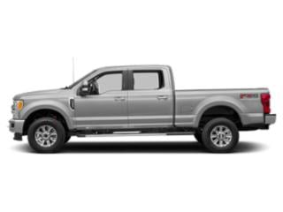 Ingot Silver Metallic 2018 Ford Super Duty F-250 SRW Pictures Super Duty F-250 SRW XLT 4WD Crew Cab 8' Box photos side view