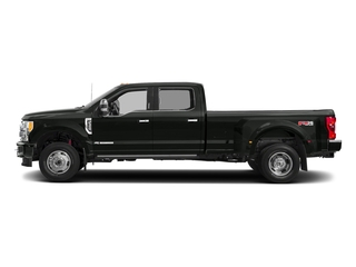 Magnetic Metallic 2018 Ford Super Duty F-350 DRW Pictures Super Duty F-350 DRW Platinum 4WD Crew Cab 8' Box photos side view