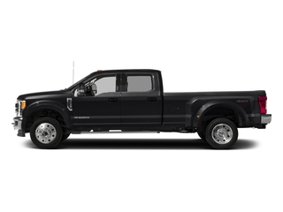 Shadow Black 2018 Ford Super Duty F-450 DRW Pictures Super Duty F-450 DRW Crew Cab XLT 4WD T-Diesel photos side view