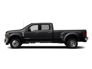 Shadow Black 2018 Ford Super Duty F-450 DRW Pictures Super Duty F-450 DRW Crew Cab King Ranch 2WD T-Diesel photos side view