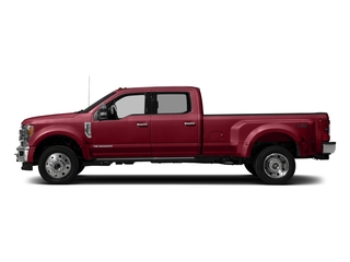 Ruby Red Metallic Tinted Clearcoat 2018 Ford Super Duty F-450 DRW Pictures Super Duty F-450 DRW Crew Cab King Ranch 2WD T-Diesel photos side view