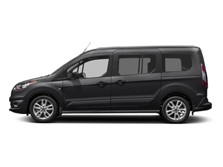 Black Velvet 2018 Ford Transit Connect Wagon Pictures Transit Connect Wagon XLT SWB w/Rear Symmetrical Doors photos side view