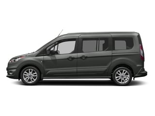 Magnetic Metallic 2018 Ford Transit Connect Wagon Pictures Transit Connect Wagon XLT SWB w/Rear Symmetrical Doors photos side view