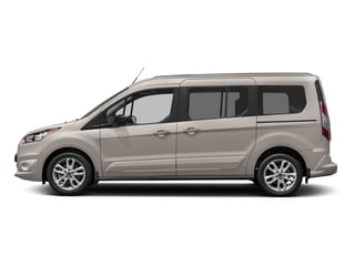 Silver Metallic 2018 Ford Transit Connect Wagon Pictures Transit Connect Wagon XLT SWB w/Rear Symmetrical Doors photos side view