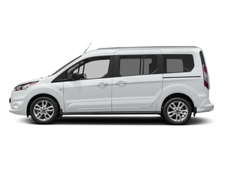 Frozen White 2018 Ford Transit Connect Wagon Pictures Transit Connect Wagon XLT SWB w/Rear Symmetrical Doors photos side view