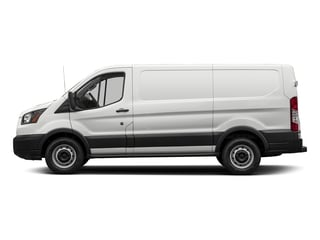 Oxford White 2018 Ford Transit Van Pictures Transit Van T-150 130 Low Rf 8600 GVWR Swing-Out RH Dr photos side view