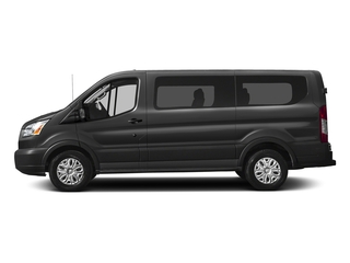 Stone Gray Metallic 2018 Ford Transit Passenger Wagon Pictures Transit Passenger Wagon Passenger Van XLT Low Roof photos side view