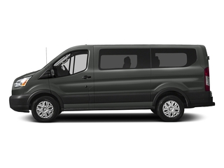 Magnetic Metallic 2018 Ford Transit Passenger Wagon Pictures Transit Passenger Wagon Passenger Van XLT Low Roof photos side view