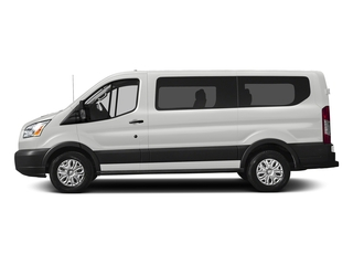 Oxford White 2018 Ford Transit Passenger Wagon Pictures Transit Passenger Wagon Passenger Van XLT Low Roof photos side view