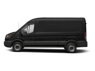 Magnetic Metallic 2018 Ford Transit Van Pictures Transit Van T-250 148 Med Rf 9000 GVWR Dual Dr photos side view