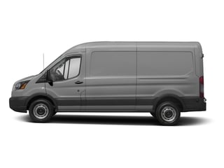 Ingot Silver Metallic 2018 Ford Transit Van Pictures Transit Van T-250 148 Med Rf 9000 GVWR Dual Dr photos side view
