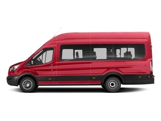 Race Red 2018 Ford Transit Passenger Wagon Pictures Transit Passenger Wagon T-350 148 Low Roof XL Swing-Out RH Dr photos side view