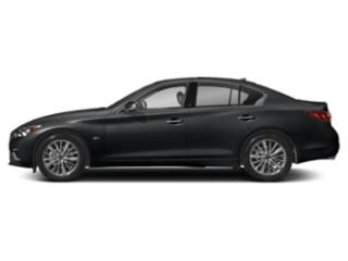 Midnight Black 2018 INFINITI Q50 Pictures Q50 Sedan 4D 3.0T Luxe AWD photos side view