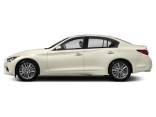 Majestic White 2018 INFINITI Q50 Pictures Q50 3.0t LUXE RWD photos side view