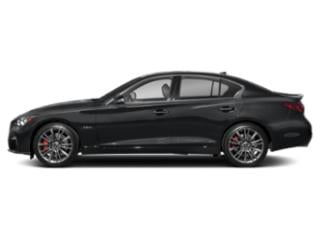Midnight Black 2018 INFINITI Q50 Pictures Q50 RED SPORT 400 RWD photos side view