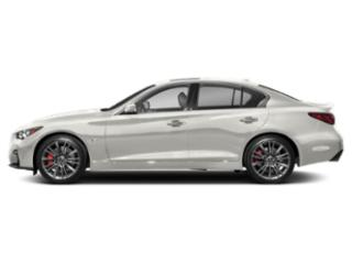 Majestic White 2018 INFINITI Q50 Pictures Q50 RED SPORT 400 RWD photos side view