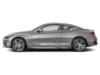 Liquid Platinum 2018 INFINITI Q60 Pictures Q60 Coupe 2D 3.0T Luxe photos side view