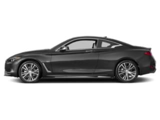 Graphite Shadow 2018 INFINITI Q60 Pictures Q60 2.0t PURE RWD photos side view