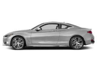 Liquid Platinum 2018 INFINITI Q60 Pictures Q60 2.0t PURE RWD photos side view
