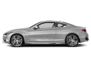 Liquid Platinum 2018 INFINITI Q60 Pictures Q60 SPORT AWD photos side view