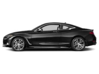 Black Obsidian 2018 INFINITI Q60 Pictures Q60 2.0t PURE RWD photos side view