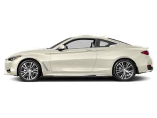 Majestic White 2018 INFINITI Q60 Pictures Q60 2.0t LUXE AWD photos side view