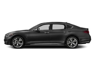 Graphite Shadow 2018 INFINITI Q70L Pictures Q70L Sedan 4D LWB AWD V6 photos side view