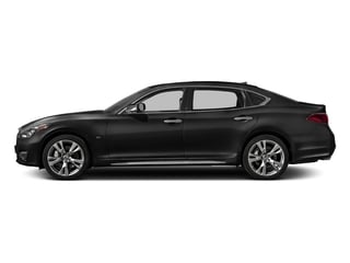 Black Obsidian 2018 INFINITI Q70L Pictures Q70L Sedan 4D LWB AWD V6 photos side view