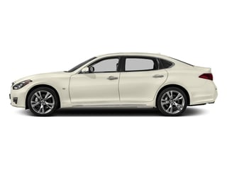 Majestic White 2018 INFINITI Q70L Pictures Q70L 3.7 LUXE AWD photos side view