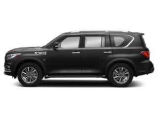 Mineral Black 2018 INFINITI QX80 Pictures QX80 Utility 4D AWD V8 photos side view
