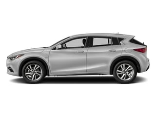 Blade Silver 2018 INFINITI QX30 Pictures QX30 Premium FWD photos side view
