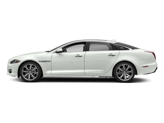 Fuji White 2018 Jaguar XJ Pictures XJ XJL Portfolio RWD photos side view