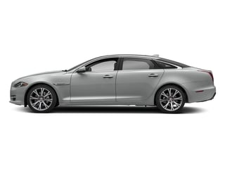 Indus Silver Metallic 2018 Jaguar XJ Pictures XJ XJL Portfolio RWD photos side view