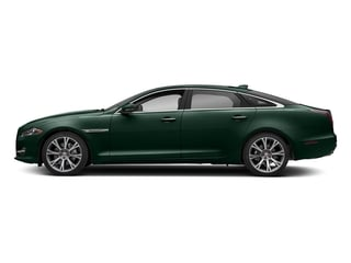 British Racing Green Metallic 2018 Jaguar XJ Pictures XJ XJL Portfolio RWD photos side view