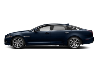 Loire Blue Metallic 2018 Jaguar XJ Pictures XJ XJL Portfolio RWD photos side view