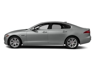 Indus Silver Metallic 2018 Jaguar XF Pictures XF Sedan 20d Premium RWD photos side view