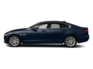 Loire Blue Metallic 2018 Jaguar XF Pictures XF Sedan 20d Premium RWD photos side view
