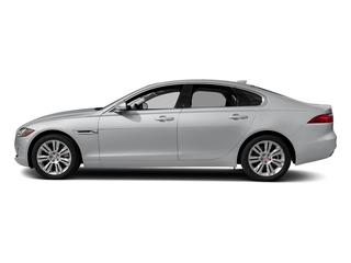 Yulong White Metallic 2018 Jaguar XF Pictures XF Sedan 20d Premium RWD photos side view