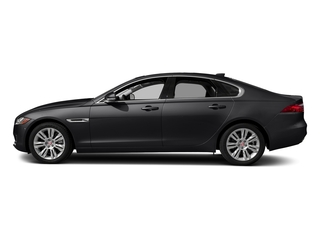 Narvik Black 2018 Jaguar XF Pictures XF Sedan 35t Premium RWD *Ltd Avail* photos side view