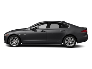 Carpathian Grey 2018 Jaguar XF Pictures XF Sedan 35t Premium RWD *Ltd Avail* photos side view
