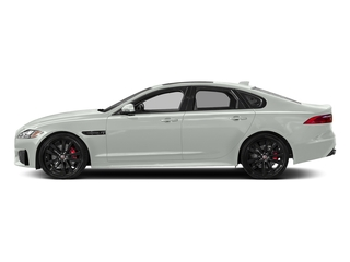 Fuji White 2018 Jaguar XF Pictures XF Sedan S AWD photos side view