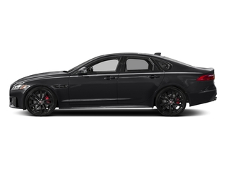 Narvik Black 2018 Jaguar XF Pictures XF Sedan S AWD photos side view