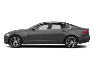 Corris Grey Metallic 2018 Jaguar XF Pictures XF Sedan 25t Prestige AWD photos side view