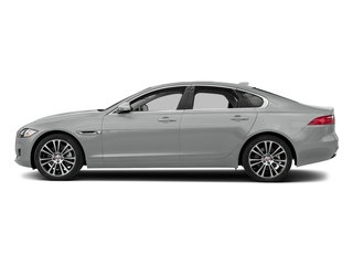 Indus Silver Metallic 2018 Jaguar XF Pictures XF Sedan 25t Prestige AWD photos side view