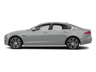 Indus Silver Metallic 2018 Jaguar XF Pictures XF Sedan 25t Prestige RWD photos side view