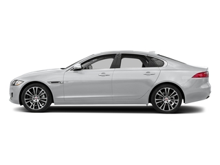 Yulong White Metallic 2018 Jaguar XF Pictures XF Sedan 25t Prestige RWD photos side view