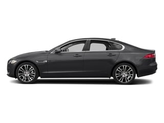 Carpathian Grey 2018 Jaguar XF Pictures XF Sedan 25t Prestige AWD photos side view