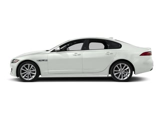 Fuji White 2018 Jaguar XF Pictures XF Sedan 4D 20d R-Sport photos side view